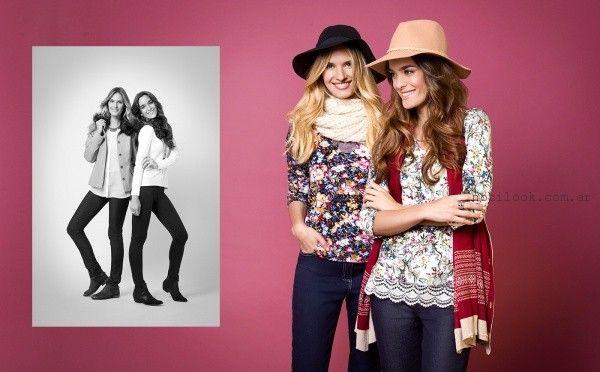 blusas y jeans - Moda señoras by ETAM invierno 2016