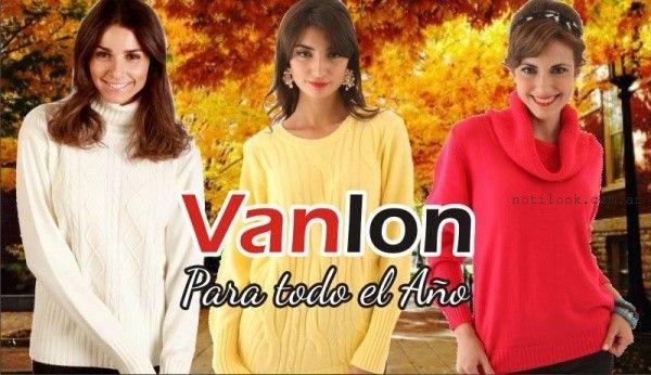 buzos Vanlon Tejidos otoño invierno 2016