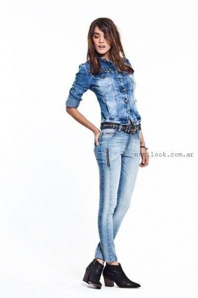 camisa jeans  vesna otoño invierno 2016