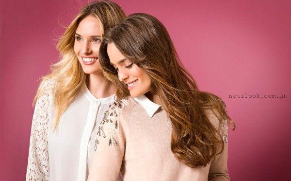 camisas de mujer - Moda señoras by ETAM invierno 2016