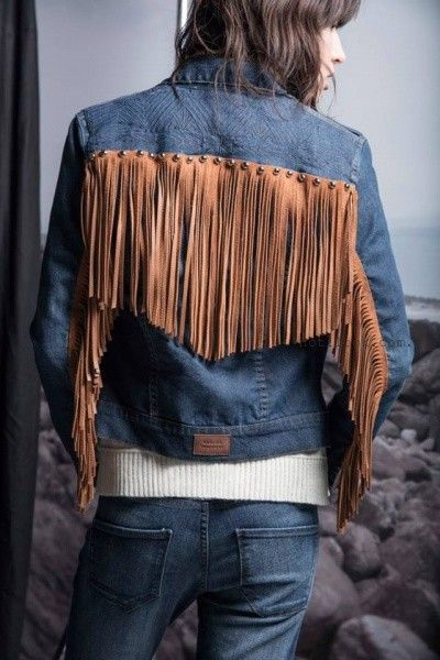 campera de jeans  Wanama invierno 2016