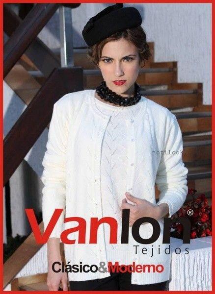 cardigan Vanlon Tejidos otoño invierno 2016
