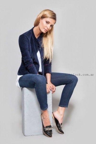 chupin de jeans  Zulas otoño invierno 2016