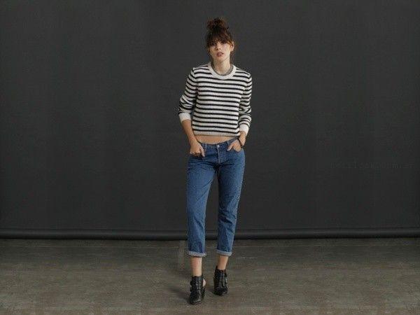 jeans capri levis invierno 2016