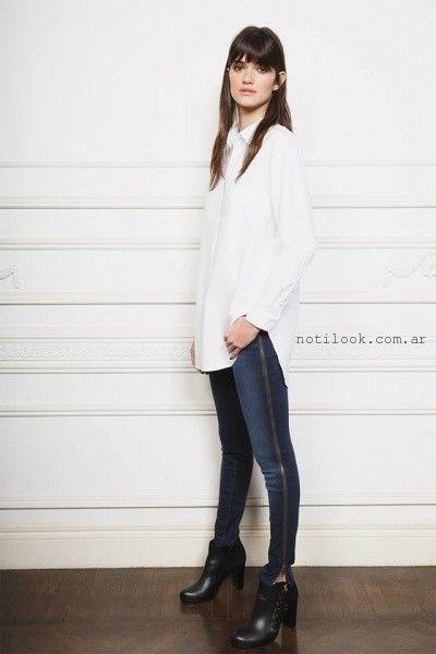 jeans con cierre al costado Ayres otoño invierno 2016