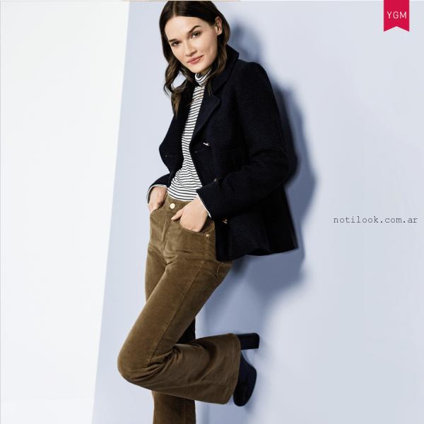 jeans oxford de corderoy otoño invierno 2016