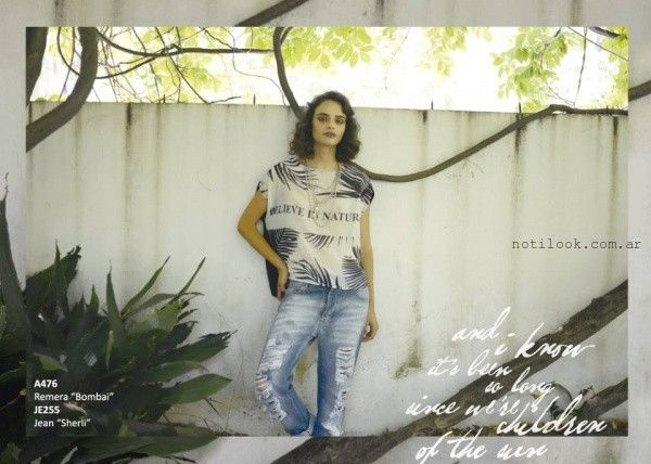 jeans rotos Rimmel otoño invierno 2016