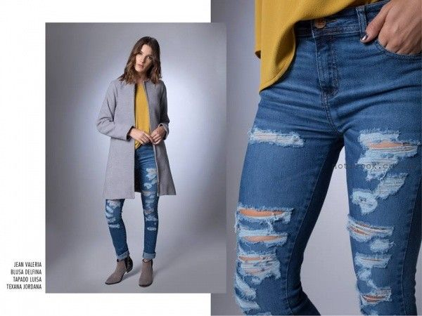 jeans rotos la cofradia  la cofradia invierno 2016