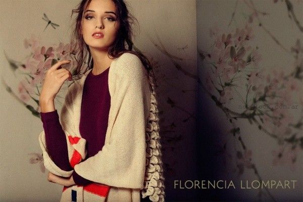 kimono Florencia Llompart Tejidos invierno 2016