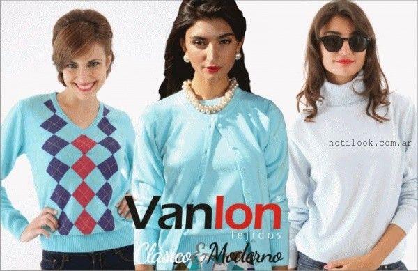 moda en Vanlon Tejidos otoño invierno 2016