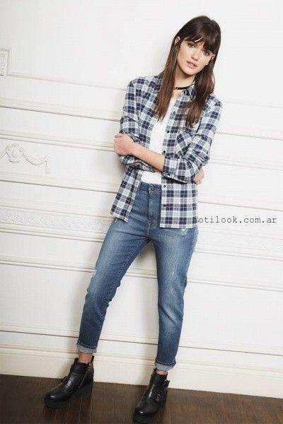 pantalon de jeans Ayres otoño invierno 2016