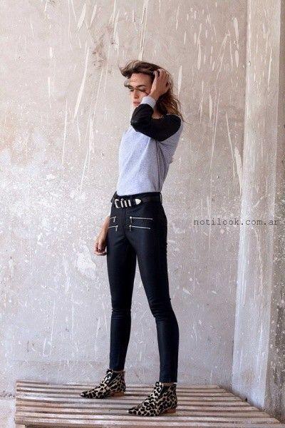 pantalon engomado pura pampa otoño invierno 2016
