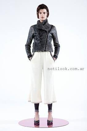 pantalones amplios capri  tramando otoño invierno 2016