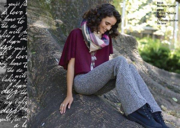 pantalones tejidos Rimmel otoño invierno 2016