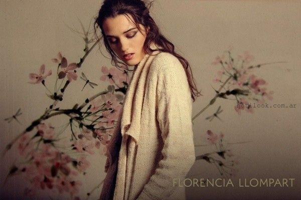 sacos Florencia Llompart Tejidos invierno 2016