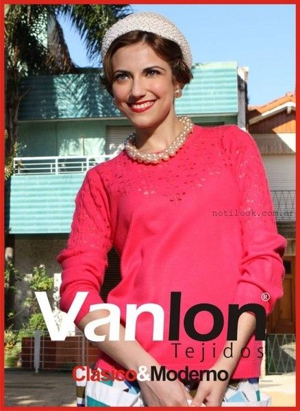 sweater calado Vanlon Tejidos otoño invierno 2016