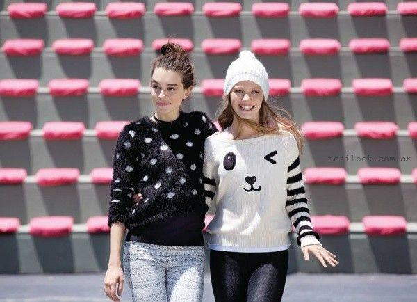 sweater juveniles como quieres que te quiera invierno 2016