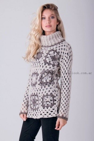 sweater polera calado enriquiana otoño invierno 2016