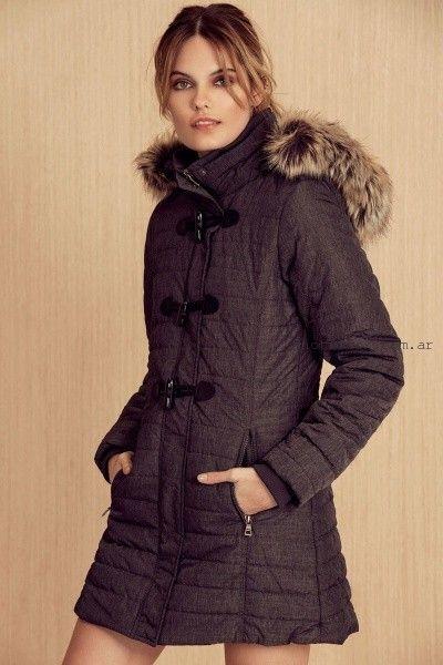 trench con capucha invierno 2016 - Julien