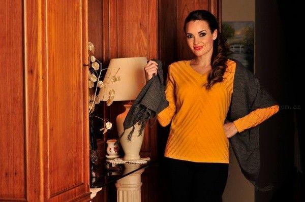 Di Madani Sweaters tejidos para señoras invierno 2016