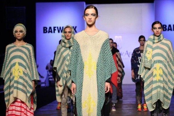 Ponchos tejidos invierno 2016 - Juana de Arco
