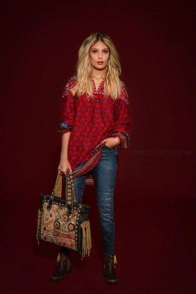 blusa estilo tunicA sophya invierno 2016