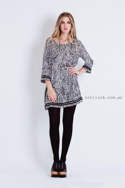 blusa largas para usar con calzas tibetano invierno 2016