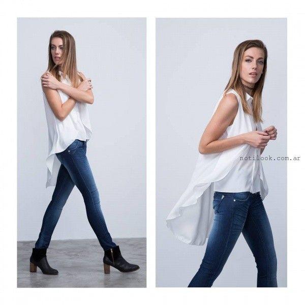 camisa blanca para mujer invierno 2016 Buryak