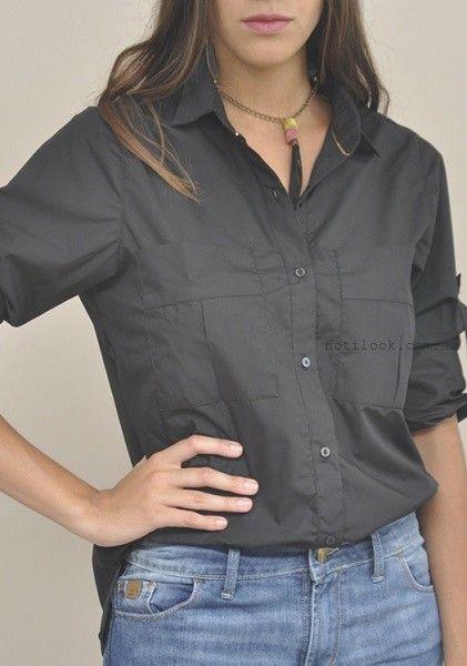 camisa de voile mujer las taguas invierno 2016