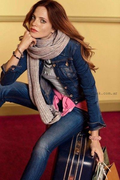 campera de jeans Scombro Jeans invierno 2016