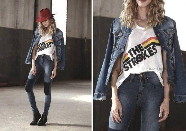 camperas de jeans  Riffle jeans invierno 2016
