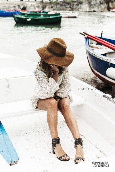 capelinas de fieltro invierno 2016 compañia de sombreros