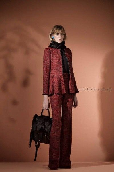 chaqueta con cierre Carmela Achaval invierno 2016