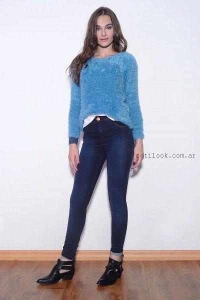 jeans azul oscuro  viga Jeans invierno 2016