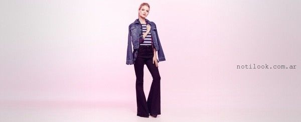 jeans oxford Materia invierno 2016