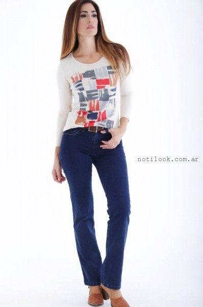 jeans para señoras  invierno 2016 mirta Armesto