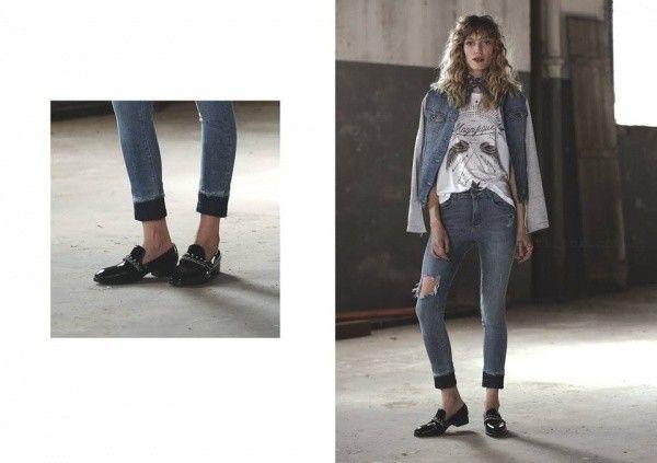 jeans rotos  Riffle jeans invierno 2016