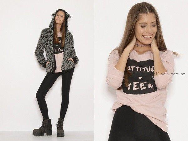 outfit casual juvenil te lo juro otoño invierno 2016
