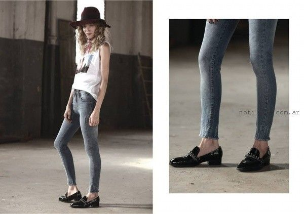 pantalon chupin  Riffle jeans invierno 2016