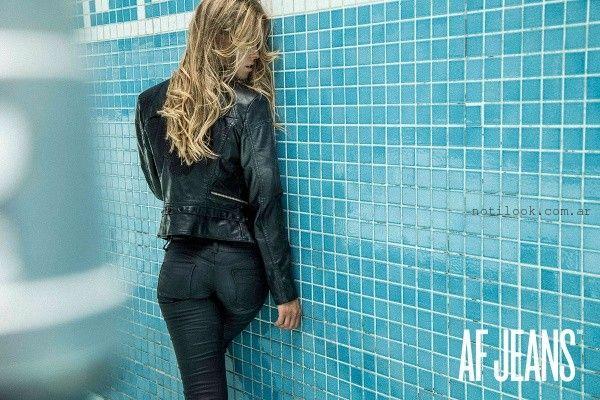 pantalones engomados AF Jeans invierno 2016