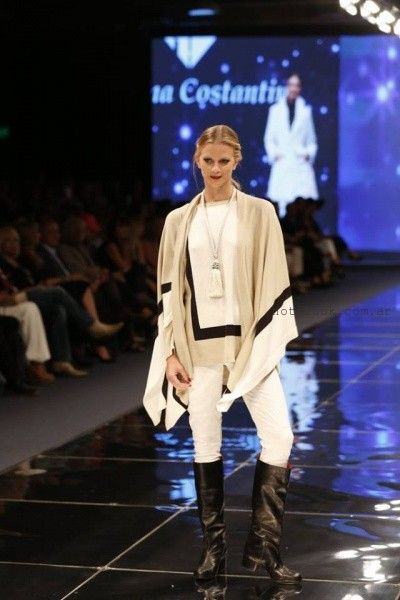 ponchos para mujer Adriana Costantini invierno 2016
