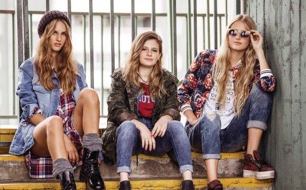 prendas de jeans para adolescentes otoño invierno 2016  - Union Good