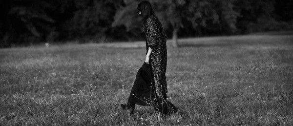 sacos largos con brillo invierno 2016 Debora Buttarelli