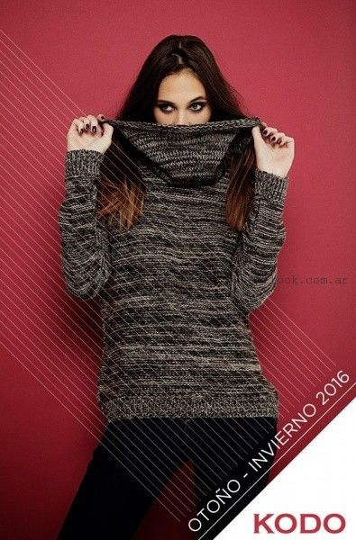sweater abrigados  Kodo Jeans invierno 2016