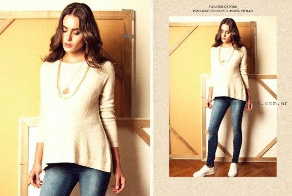 sweater para embarazadas  Maa Maternity invierno 2016