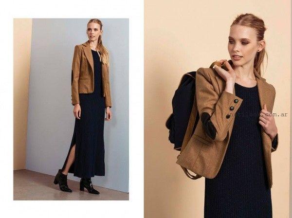 1f830dcd0 vestido largo tejido otoño invierno 2016 Estancias chiripa – Moda ...