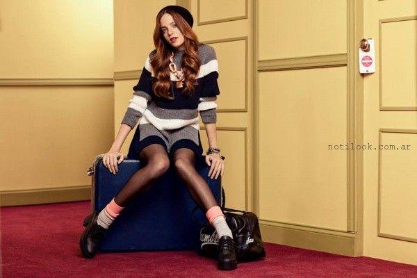 vestido tejido Scombro Jeans invierno 2016