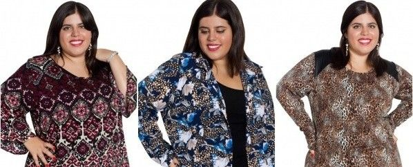 Syes blusas y remeras en talles grandes invierno 2016