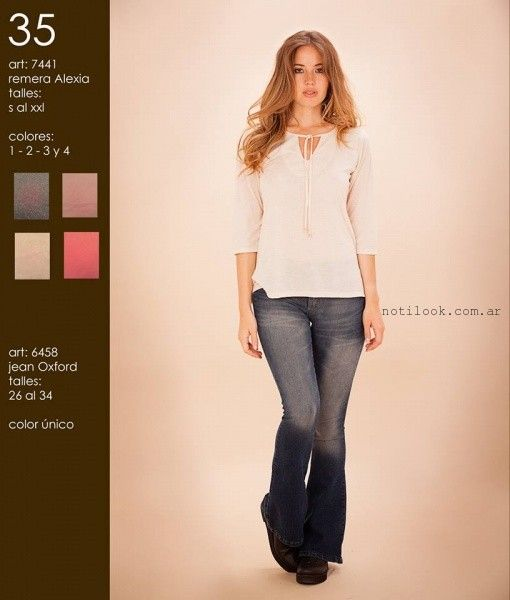 blusa blanca okoche invierno 2016