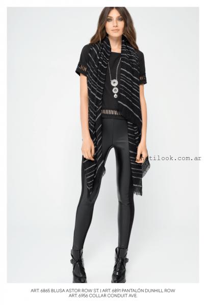 calza negra combinada  Mab invierno 2016